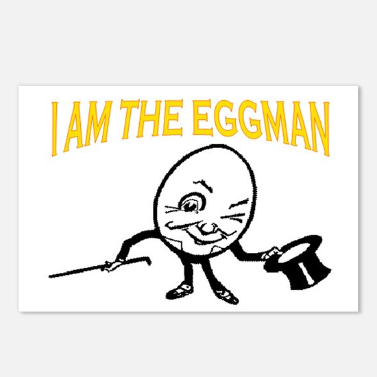 I AM THE EGGMAN Postcards (Package of 8)