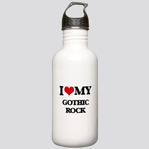 I Love My GOTHIC ROCK Stainless Water Bottle 1.0L