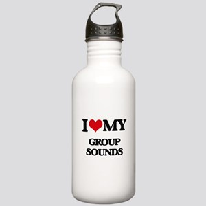 I Love My GROUP SOUNDS Stainless Water Bottle 1.0L