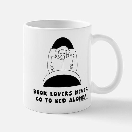 Book Lovers Bed-Female<br> Mug