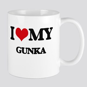 I Love My GUNKA Mugs