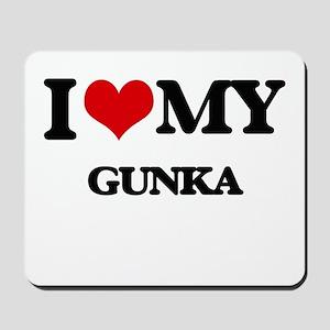 I Love My GUNKA Mousepad
