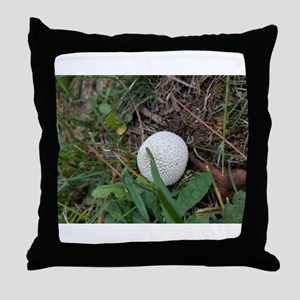 Mushroom In Bloom Throw Pillow