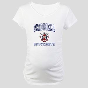 GRINNELL University Maternity T-Shirt