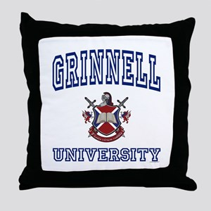 GRINNELL University Throw Pillow