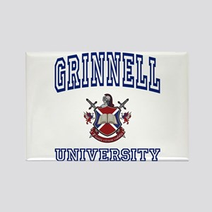 GRINNELL University Rectangle Magnet
