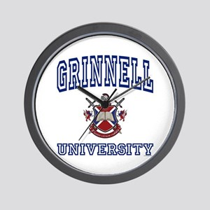 GRINNELL University Wall Clock