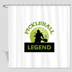 PICKLEBALL LEGEND Shower Curtain