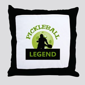 PICKLEBALL LEGEND Throw Pillow