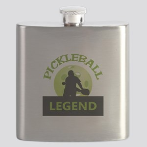 PICKLEBALL LEGEND Flask
