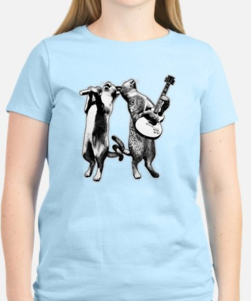 Cat Humor with Cats Rocking T-Shirt