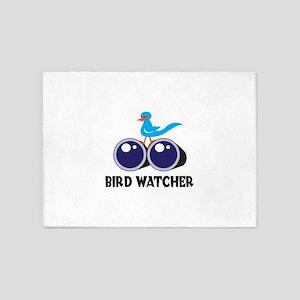BIRD WATCHER 5'x7'Area Rug