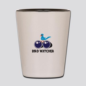 BIRD WATCHER Shot Glass