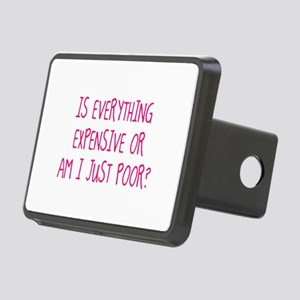 Is Everything Expensive Rectangular Hitch Cover