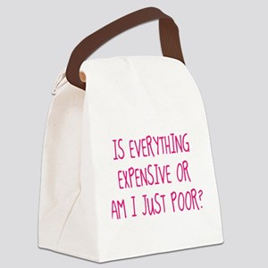 Is Everything Expensive Canvas Lunch Bag