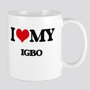 I Love My IGBO Mugs