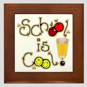 SCHOOL is COOL! Framed Tile