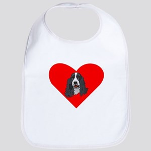 English Springer Spaniel Heart Bib