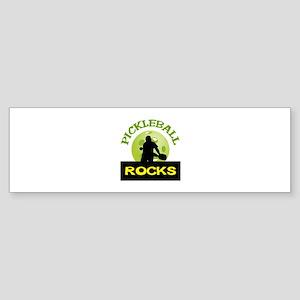 PICKLEBALL ROCKS Bumper Sticker