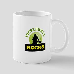 PICKLEBALL ROCKS Mugs
