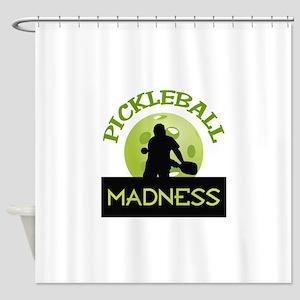 PICKLEBALL MADNESS Shower Curtain
