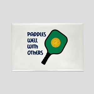 PADDLES WELL WITH OTHERS Magnets