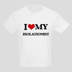 I Love My ISOLATIONIST T-Shirt