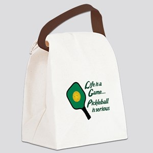 PICKLEBALL IS SERIOUS Canvas Lunch Bag