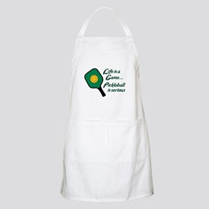 PICKLEBALL IS SERIOUS Apron