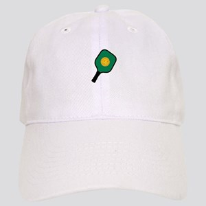 PICKLEBALL AND PADDLE Baseball Cap