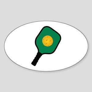 PICKLEBALL AND PADDLE Sticker