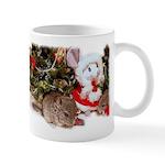 Baby Chinchilla Christmas Mug