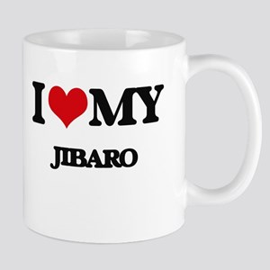 I Love My JIBARO Mugs