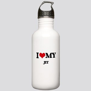 I Love My JIT Stainless Water Bottle 1.0L