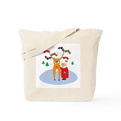 Rudolf's Toasty Christmas! Tote Bag