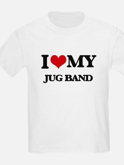 I Love My JUG BAND T-Shirt