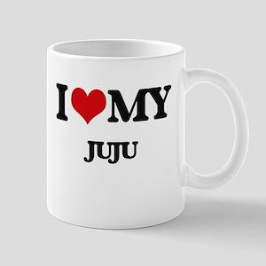I Love My JUJU Mugs
