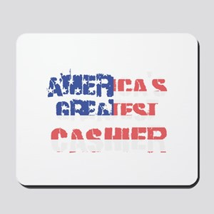 America's Greatest Cashier Mousepad