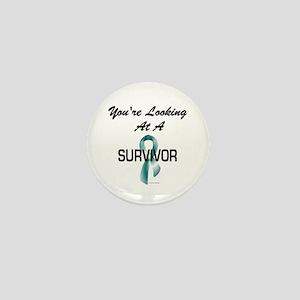 Ovarian Cancer Survivor 1.2 Mini Button