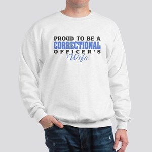 Correctional Officers Wife Sweatshirt