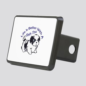 BETTER WITH SHIH TZU Hitch Cover