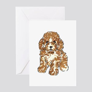 TOY POODLE Greeting Cards