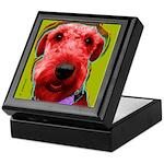 Airedale dog Keepsake Box
