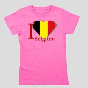 I love Belgium Girl's Tee