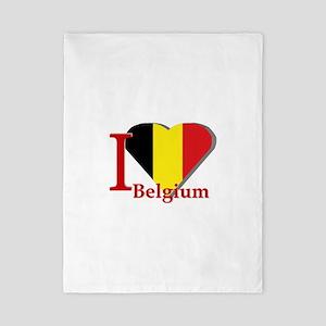 I love Belgium Twin Duvet