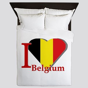 I love Belgium Queen Duvet