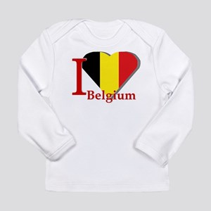 I love Belgium Long Sleeve Infant T-Shirt