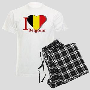 I love Belgium Men's Light Pajamas