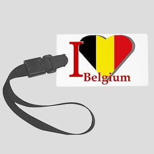 I love Belgium Large Luggage Tag