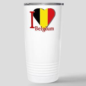I love Belgium Stainless Steel Travel Mug